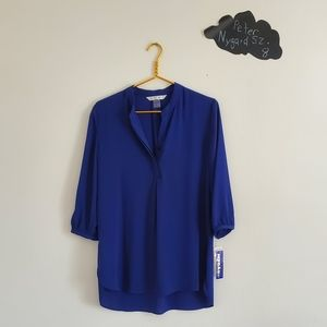 ❤New! Royal blue Peter Nygard top with a tag 8